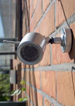 Diese Überwachungskamera ist für den Hausgebrauch gedacht.