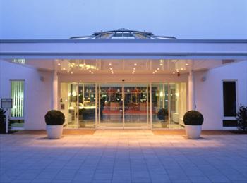 Der Eingangsbereich des Hotels New Living